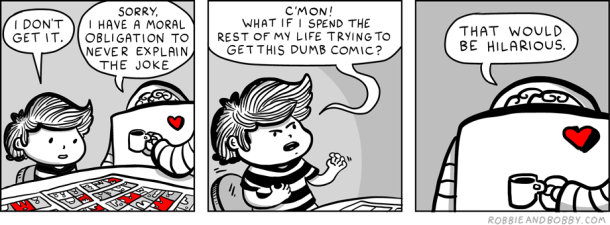 The Joke Code | Robbie and Bobby Comics | TBL part one