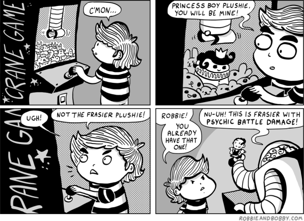Crane Game | Robbie and Bobby Comics | TBL part one