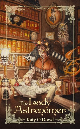Book Review: The Lady Astronomer by Katy O'Dowd | Guest Post | TBL part one