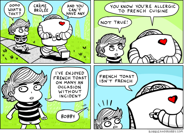 Robbie and Bobby's Pardon My French