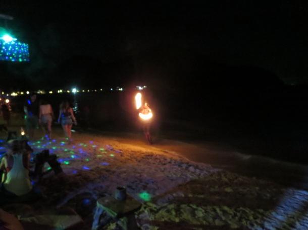 Fire tricks