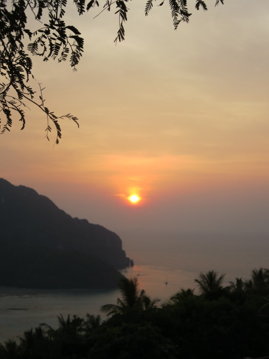 Sunset on Phi Phi Island