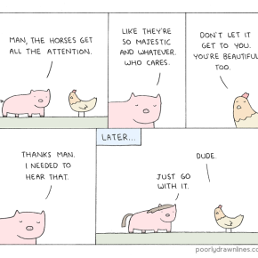 "Poorly Drawn Lines's ""The Horses"" 