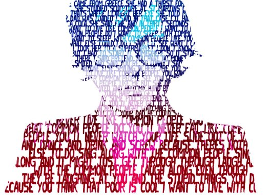 Jarvis Cocker of Pulp – Common People. Artwork by memorypalace.