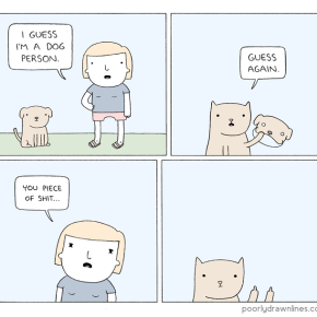 "Poorly Drawn Lines's ""Deception"" 