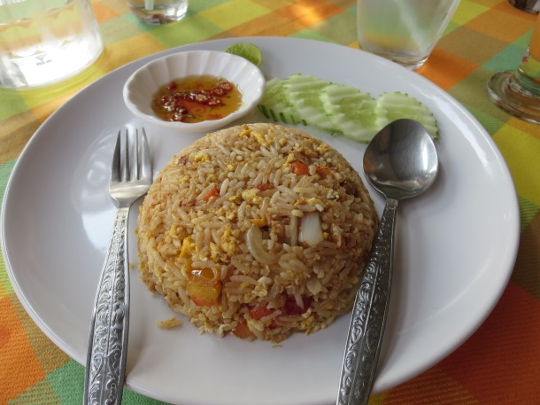 Chicken Fried Rice in Thailand
