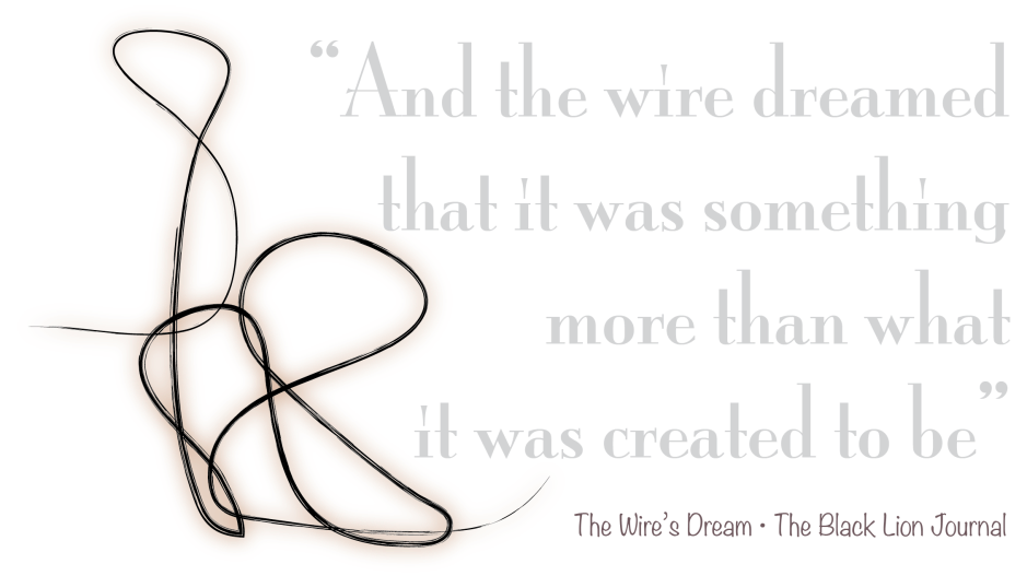 The Wire's Dream Logo | The Black Lion Journal