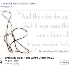 ¡MARK YOUR CALENDARS! August 29th — September 4th • Creativity Week | The Wire's Dream Inaugural Submissions