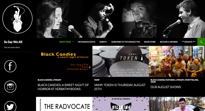 So Say We All Home Page SSWA | The black Lion Journal