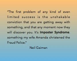 The Black Lion Journal | TBL Journal | The Black Lion | Imposter Syndrome • Neil Gaiman