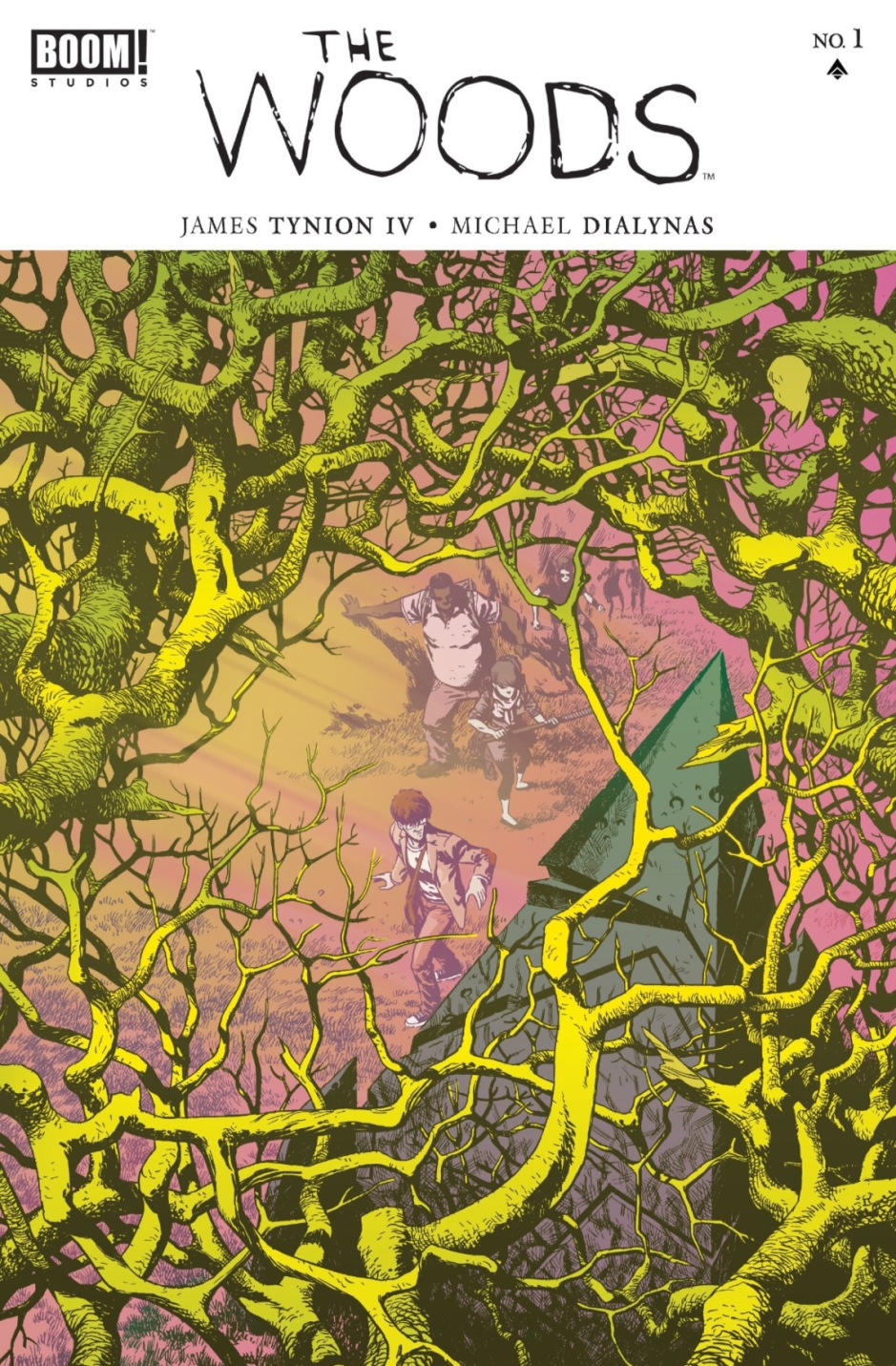 The Woods by James Tynion IV and Michael Dialynas, published by Boom Studios   The Black Lion Journal   The Black Lion