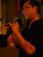 Binh H. Nguyen from TAST 2.1 Reading his work | The Black Lion Journal | The Black Lion | Image © 2016 Christina Lydia
