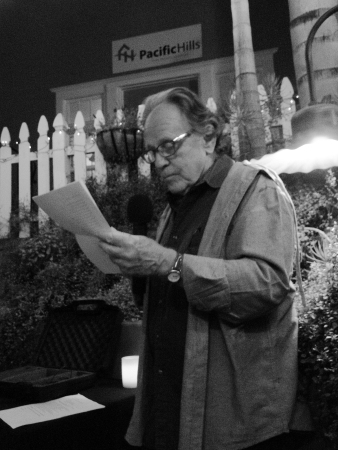 Ron Salisbury from TAST 2.1 Reading his work | The Black Lion Journal | The Black Lion | Image © 2016 Christina Lydia