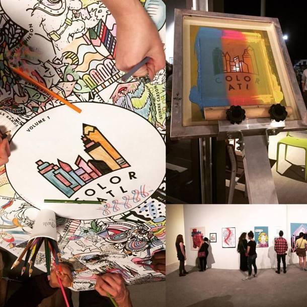 Color ATL Event in Atlanta, GA • Images by Lynn Buckler Walsh | The Black Lion Journal | The Black Lion | Black Lion
