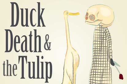 Duck, Death and the Tulip by Wolf Erlbruch | The Black Lion Journal | The Black Lion