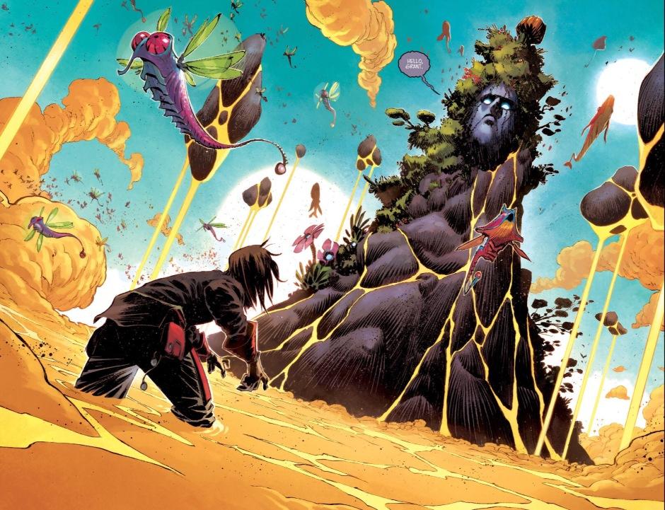 Black Science Godworld by Rick Remender, Matteo Scalera, and Moreno Dinsio | Rachel McGill | The Black Lion Journal | The Black Lion | Black Lion