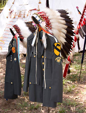 In the Smithsonian Museum lies the Native American Veterans Memorial, part of the National Museum Of The Native American.   The Black Lion Journal   The Black Lion