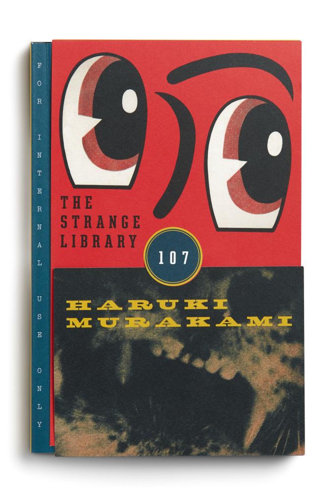 The Strange Library by Haruki Murakami   The Black Lion Journal   The Black Lion   Black Lion