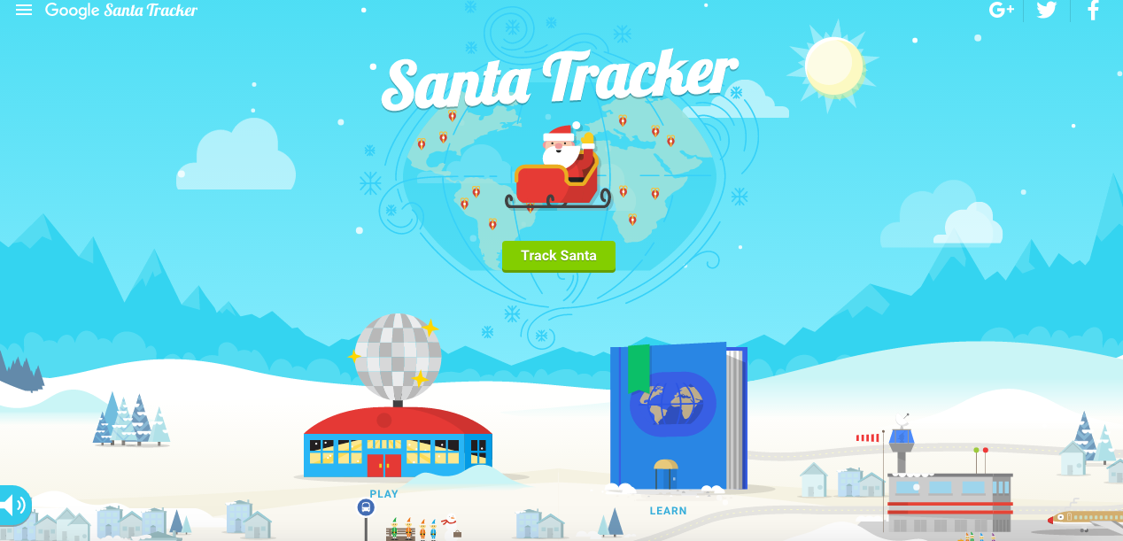 In Lieu Of A Post... Brief Words And Holiday Cheer On Google's Holiday Village! #HappyHolidays   Christina Lydia   The Black Lion Journal   Google's Santa Tracker   The Black Lion   Black Lion