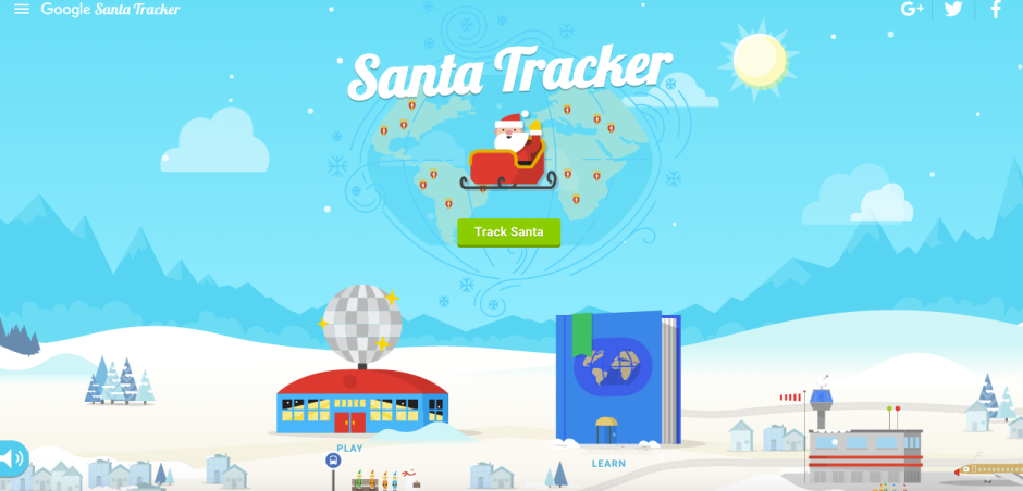 In Lieu Of A Post... Brief Words And Holiday Cheer On Google's Holiday Village! #HappyHolidays | Christina Lydia | The Black Lion Journal | Google's Santa Tracker | The Black Lion | Black Lion