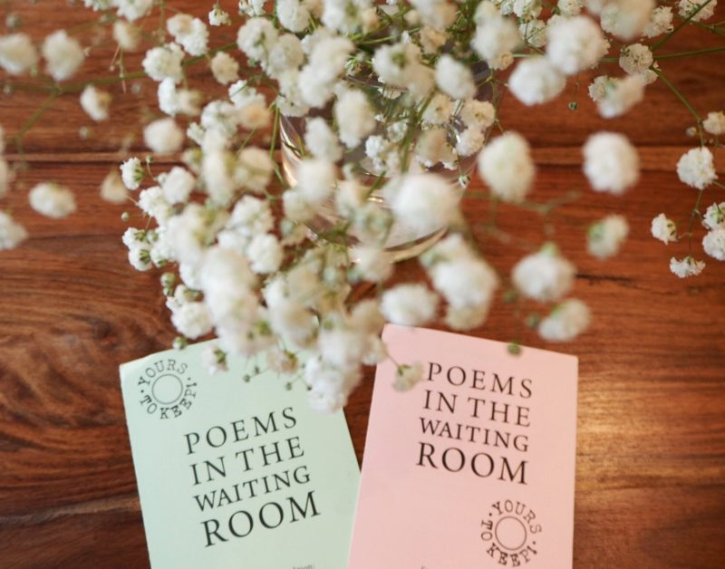 Poetically Speaking- Poems in the Waiting Room | Changing Pages | Angela Vincent | The Black Lion Journal | The Black Lion | Black Lion