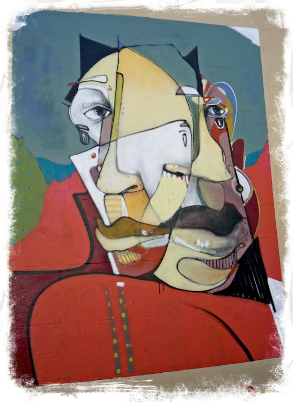 Newtown in Sydney: Public Art By 'EARS' Daniel O'Toole | BL | Black Lion Journal | Black Lion