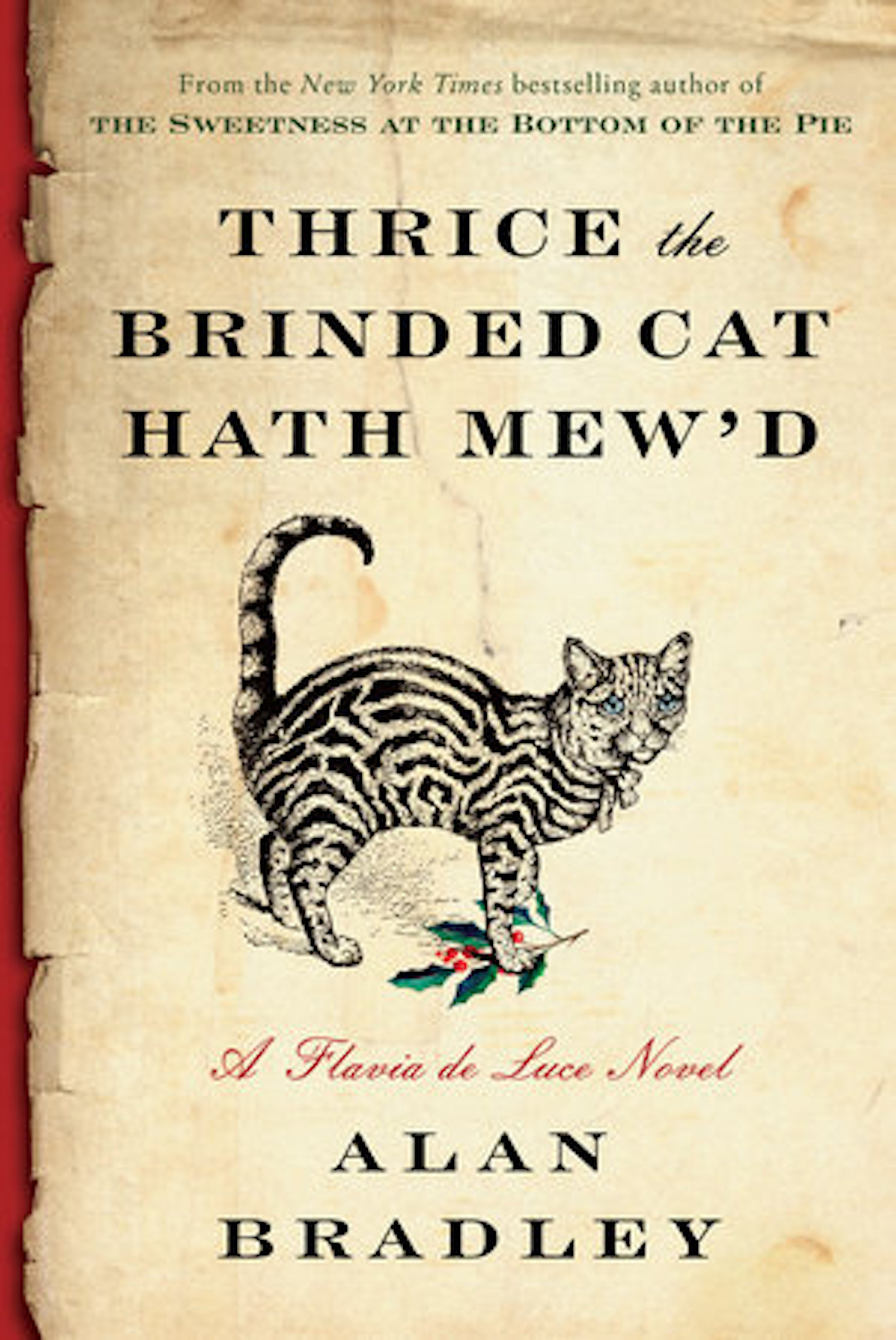 I've Read This #MondayReads | Thrice the Brinded Cat Hath Mew'd by Alan Bradley | BL | Black Lion Journal | Black Lion