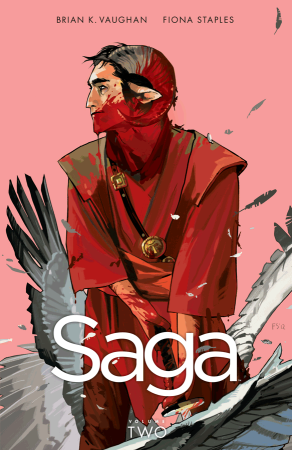 Rachel McGill's #ComicTuesday | Saga Volume 2 By Brian K. Vaughan & Fiona Staples | BL | Black Lion Journal | Black Lion