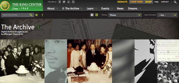 the-king-center-archives-photos | Dr. Martin Luther King Jr. & A Writer's Resilience | BL | Black Lion Journal | Black Lion