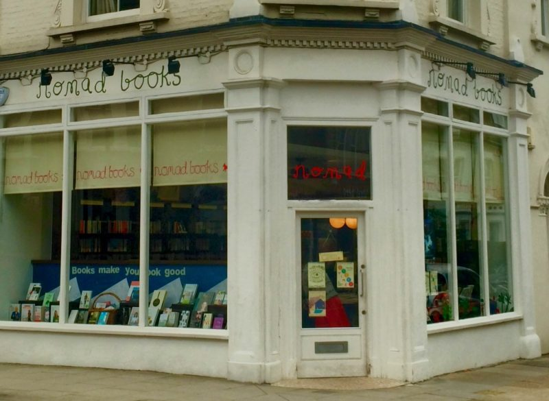 Beautiful Book Shops #8: Nomad Books, Fulham | Changing Pages | BL | Black Lion Journal | Black Lion