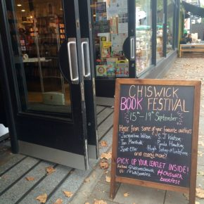 Queens Of Crime At Chiswick Book Festival | ChangingPages