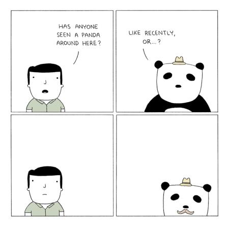 panda   6thdayfunnies-panda-poorly-drawn-lines-comics   BL   Black Lion Journal   Black Lion