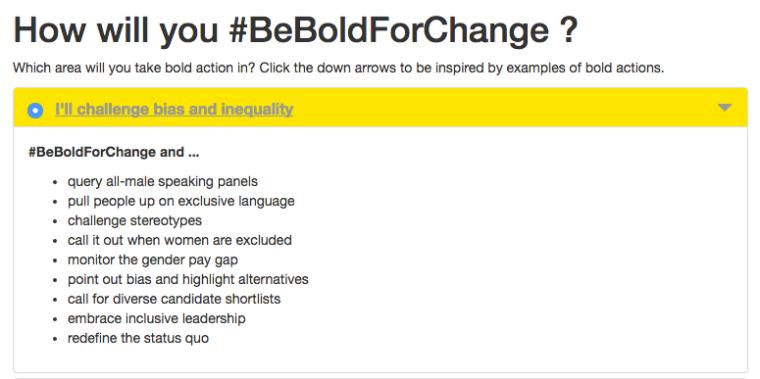 beboldforchange-iwd2017 | International Women Day 2017 Campaign Theme Is, Appropriately, #BeBoldForChange | BL | Black Lion Journal | Black Lion