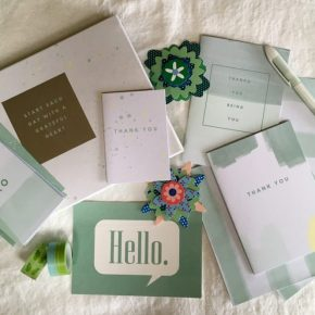 My Month of Letter Writing | Changing Pages #WomenWriters #InCoWriMo