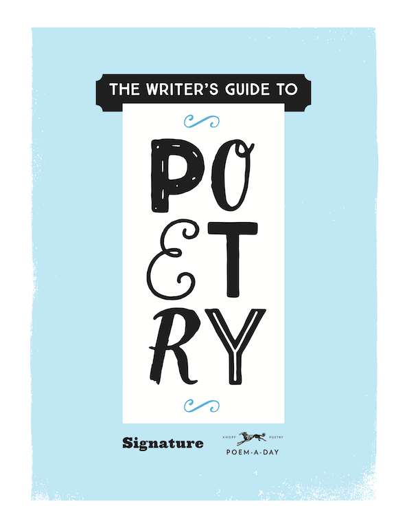 Signature-Writers-Guide-to-Poetry Cover | BL | Black Lion Journal | Black Lion | Signature's 'The Writer's Guide to Poetry' #OnWriting