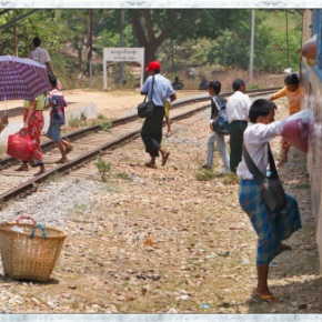 A Train Trip From Yangon To Bago, Myanmar | Lynn B. Walsh #ShiftYourPerspective