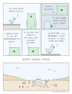 #6thDayFunnies: 'Kevin's Ideas'   Poorly Drawn Lines