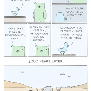 #6thDayFunnies: 'Kevin's Ideas' | Poorly DrawnLines