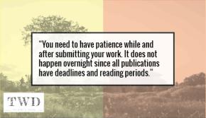 Interview | Writer Naushena On Writing Styles & On Submitting Work ToJournals