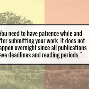 Interview | Writer Naushena On Writing Styles & On Submitting Work To Journals