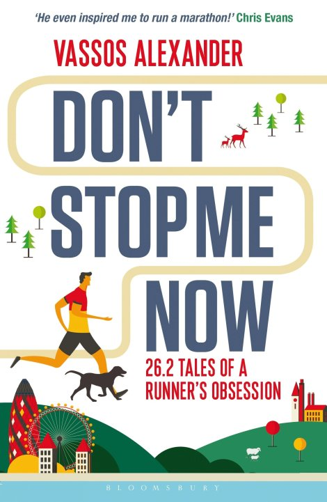 #BookReview: 'Don't Stop Me Now: 26.2 Tales of a Runner's Obsession' by Vassos Alexander | Changing Pages | BL | Black Lion Journal | Black Lion