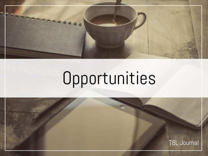opportunities to join The Black Lion Journal