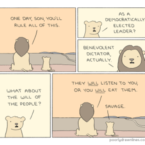 #6thDayFunnies | 'Rule' // Poorly Drawn Lines