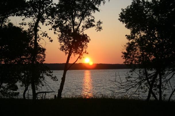Sunset at the Tamarac National Wildlife Refuge