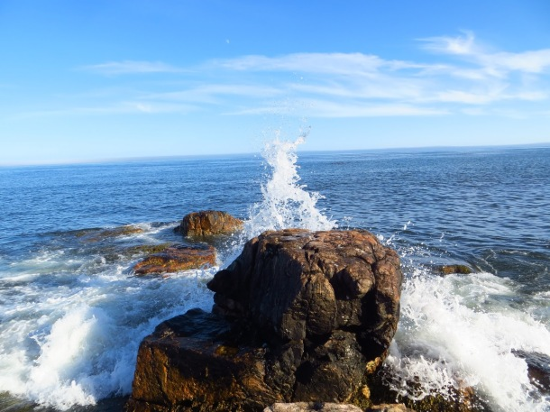 Scenery around Acadia National Park