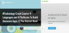 #Technology Crash Course: 4 Languages and 4 Platforms To Build Awesome Apps // The District Nerd