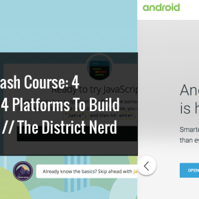 #Technology Crash Course: 4 Languages and 4 Platforms To Build Awesome Apps // The DistrictNerd