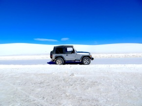 White Sands, Black Lava: White Sands Missile Range, New Mexico