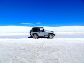 White Sands, Black Lava: White Sands Missile Range, NewMexico