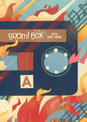 'Boom! Box Mix Tape' (Kindle & comiXology) | Rachel McGill